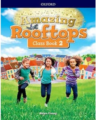 Amazing Rooftops 2 - Class Book With Reader