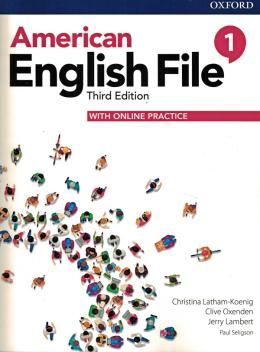 American English File 1 - Student Book With Online Practice - 3rd Ed.