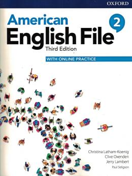 American English File 2 - Student Book With Online Practice - 3rd Ed