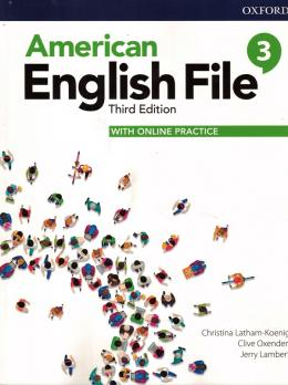 American English File 3 Student Book With Online Practice - 3rd Ed.