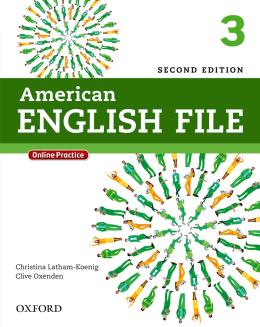 American English File 3 Students Book With Online Skills - 2nd Ed