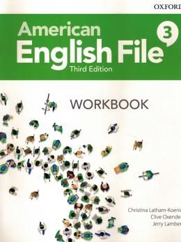 American English File 3 Workbook - 3rd Ed.