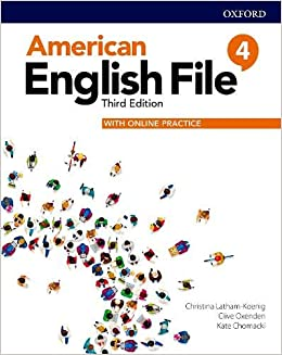 American English File 4 - Student Book With Online Practice - 3rd Ed