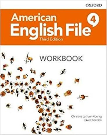 American English File 4 -  Workbook  - 3rd Ed