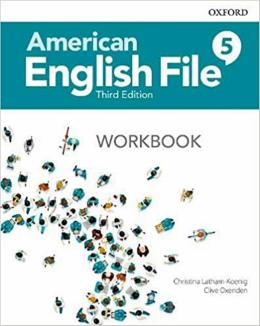 American English File 5 Student Book With Online Practice - 3rd Ed.
