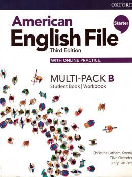 American English File Starter B - Multi-pack - 3rd Ed