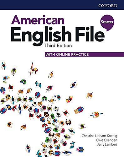 American English File Starter - Student Book With Online Practice - 3rd Ed.
