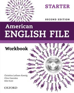 American English File Starter Wb With Ichecker - 2nd Ed
