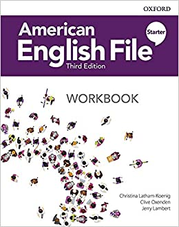 American English File Starter - Workbook - 3rd Ed.