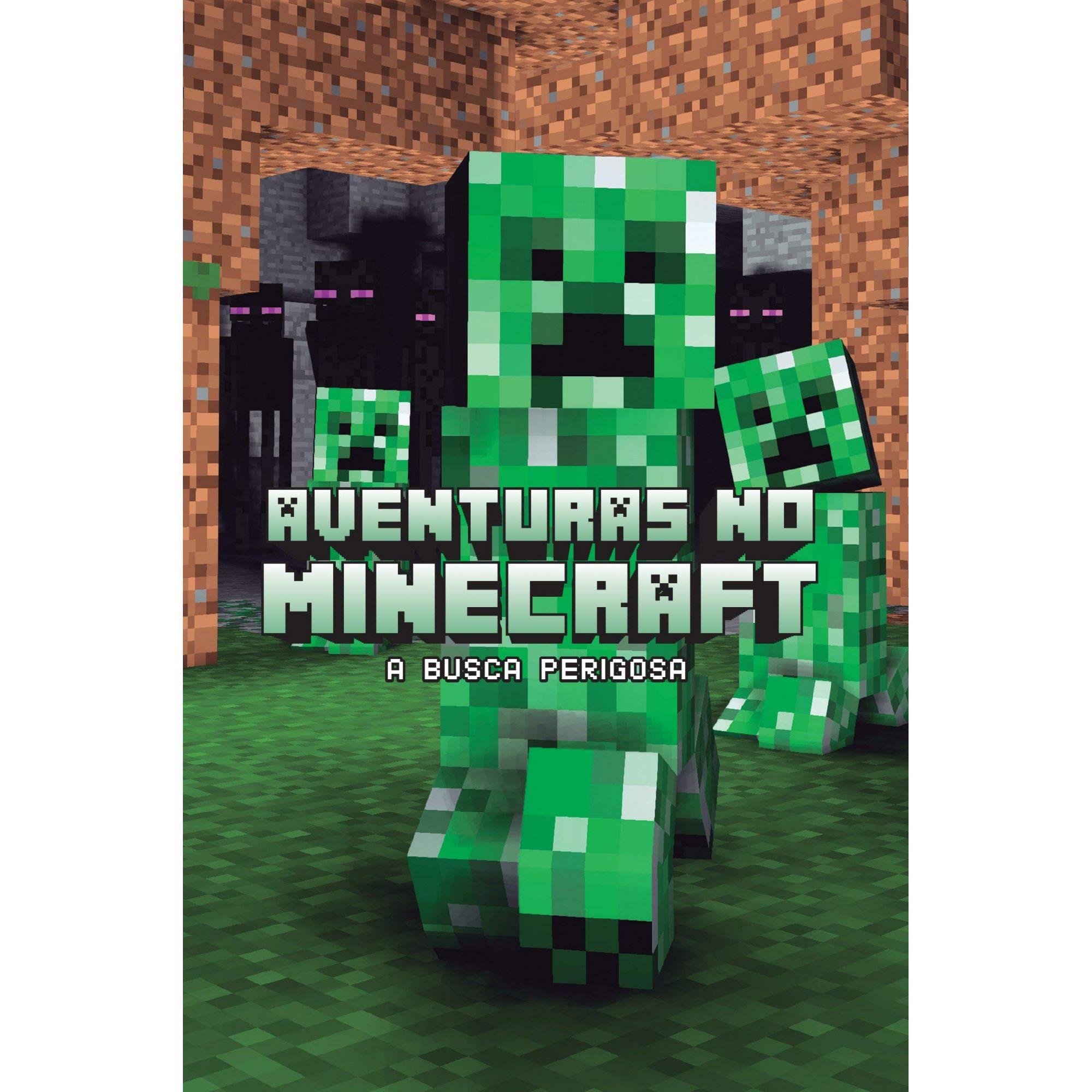 Aventuras no minecraft - Busca perigosa - livro 3: a Busca Perigosa: Volume 3