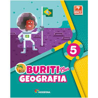 Buriti Plus. Geografia - 5º Ano (Português) Capa comum