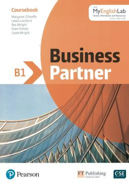 BUSINESS PARTNER B1COURSEBOOKWITH MY ENGLISH LAB