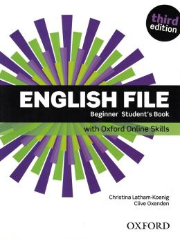 English File Beginner Sb With Oxford Online Skills - 3rd Ed.