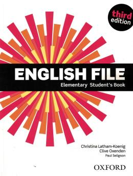 English File Elementary Student´s Book - 3rd Ed