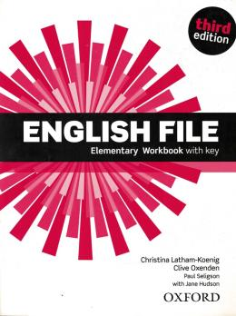 English File Elementary Wb With Key - 3rd Ed