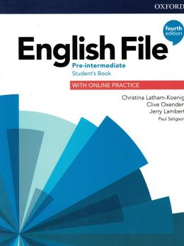 English File Pre-intermediate Sb With Online Practice - 4th Ed.