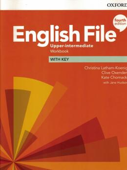 English File Upper-intermediate Workbook With Key - 4th Ed