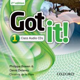 GOT IT 1 CLASS AUDIO CDS - 2ND ED