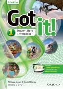GOT IT! 1 STUDENTS PACK WITH DIGITAL WORKBOOK - 2ND EDITION