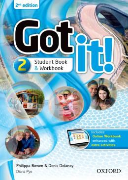 GOT IT! 2 STUDENTS PACK WITH DIGITAL WORKBOOK - 2ND ED