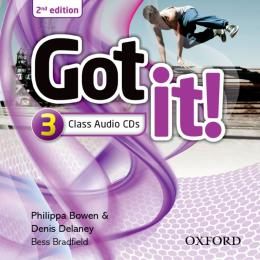 GOT IT! 3 CLASS AUDIO CDS - 2ND ED