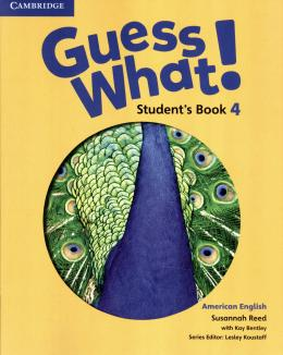 Guess What! 4 Student´s Book - American