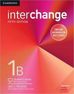 INTERCHANGE 5ED 1 SB B W/ ONLINE SELF-STUDY AND ONLINE WB