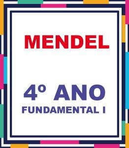 LISTA COMPLETA AGOSTINIANO MENDEL 4º ANO FUNDAMENTAL (COM DESCTO)