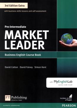 MARKET LEADER 3RD EDITION EXTRA - COURSE BOOK W/ DVD-ROM & MYENGLISHLAB PRE-INTERMEDIATE