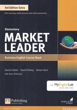 Market Leader Extra Elementary Cb With Dvd-rom And Myenglishlab - 3rd Ed