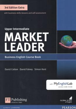 Market Leader Extra Upper Intermediate Cb With Dvd-rom And Myenglishlab - 3rd Ed