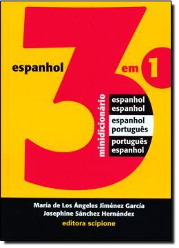 Minidicionario 3 Em 1- Espanhol/portugues