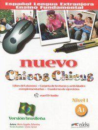 Nuevo Chicos Chicas - Libro + CD Audio A1 - Version Brasilena