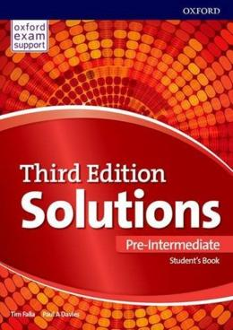 Solutions Pre-intermediate Student´s Book - 3rd Ed