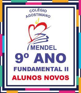 SOMENTE PARA ALUNOS NOVOS - LISTA DE LIVROS COMPLETA - 9º ANO FUND II