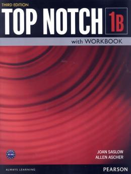 TOP NOTCH 1B SB WITH WB - 3RD ED