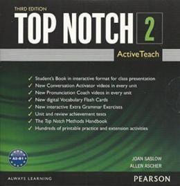 TOP NOTCH 2 ACTIVE TEACH DVD-ROM - 3RD ED