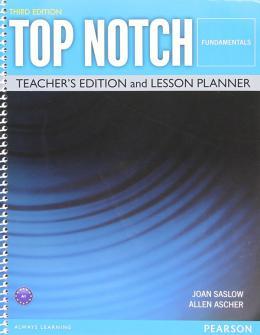 TOP NOTCH FUNDAMENTALS TEACHERS EDITION - 3RD ED