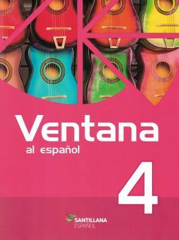 Ventana Al Espanol 4 - Libro Del Alumno + Gibi Ventana A La Investigacion + Multirom + Libro Digictal Interactivo - 2ª Edicion