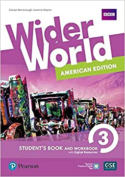 Wider World 3: American Edition - Student's Book and Workbook With Digital Resources + Online