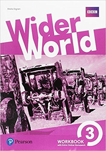 Wider World 3 workbook