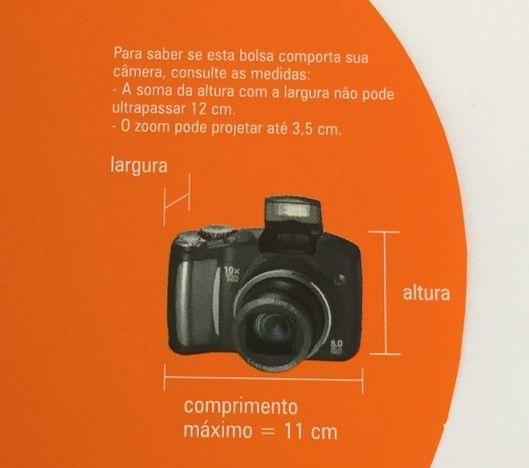 Bolsa à Prova D'água para Câmera Digital GR