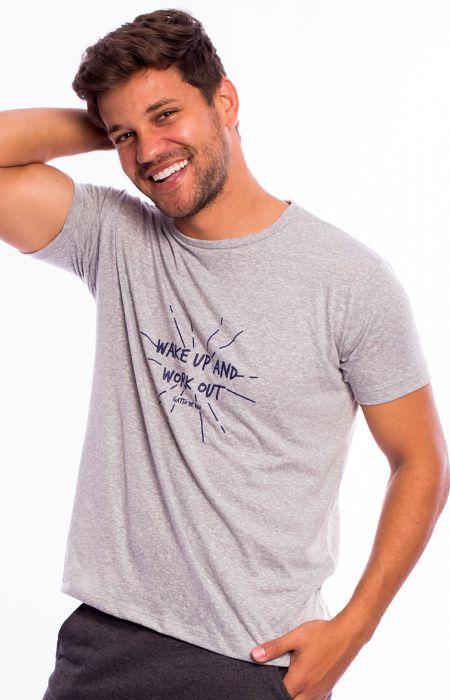 Kit com 02 Camisetas Algodão Basic To Move -masculina