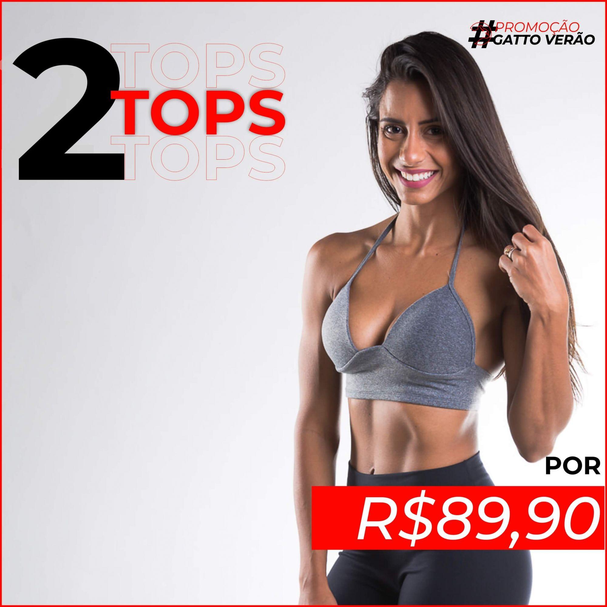 02 Tops Suplex com Bojo Gatto de Rua