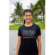 Camiseta de Algodão Feminina