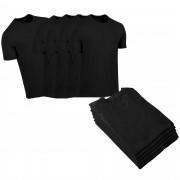 Kit Camiseta  poliamida basic 10 Peças