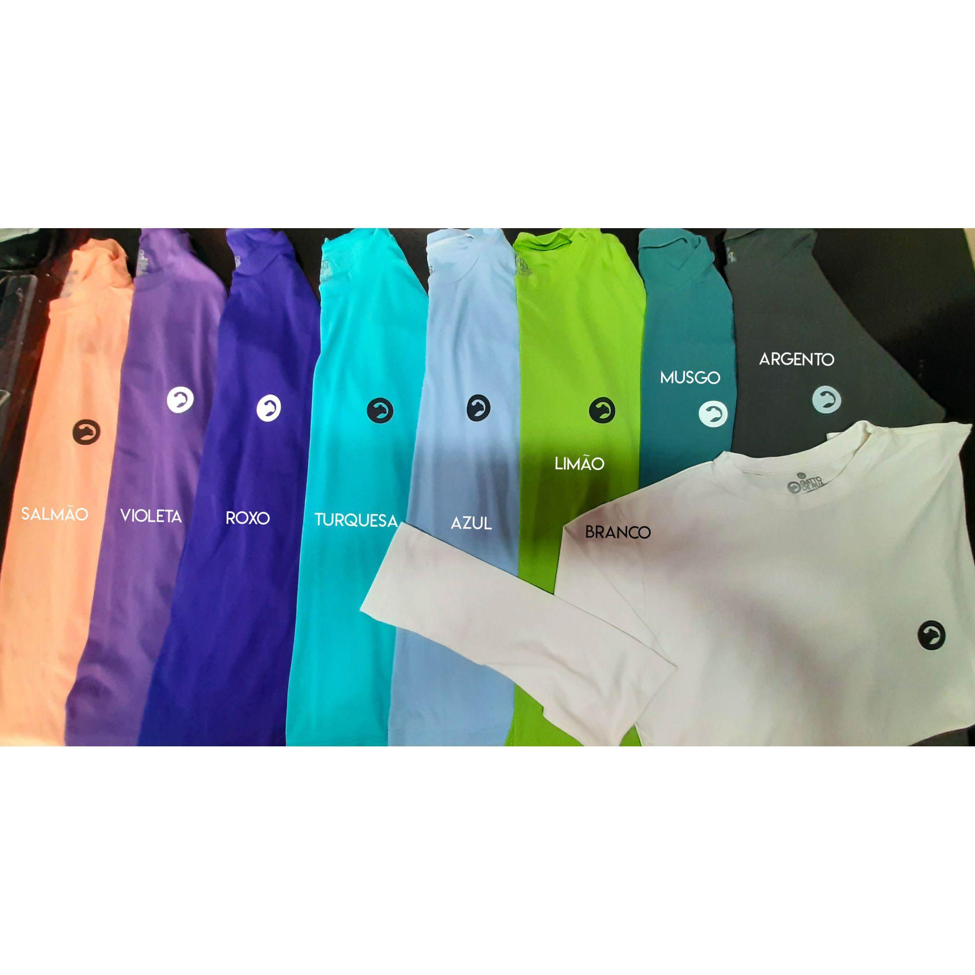 2 Camisetas Manga Longa UV Por R$69,90