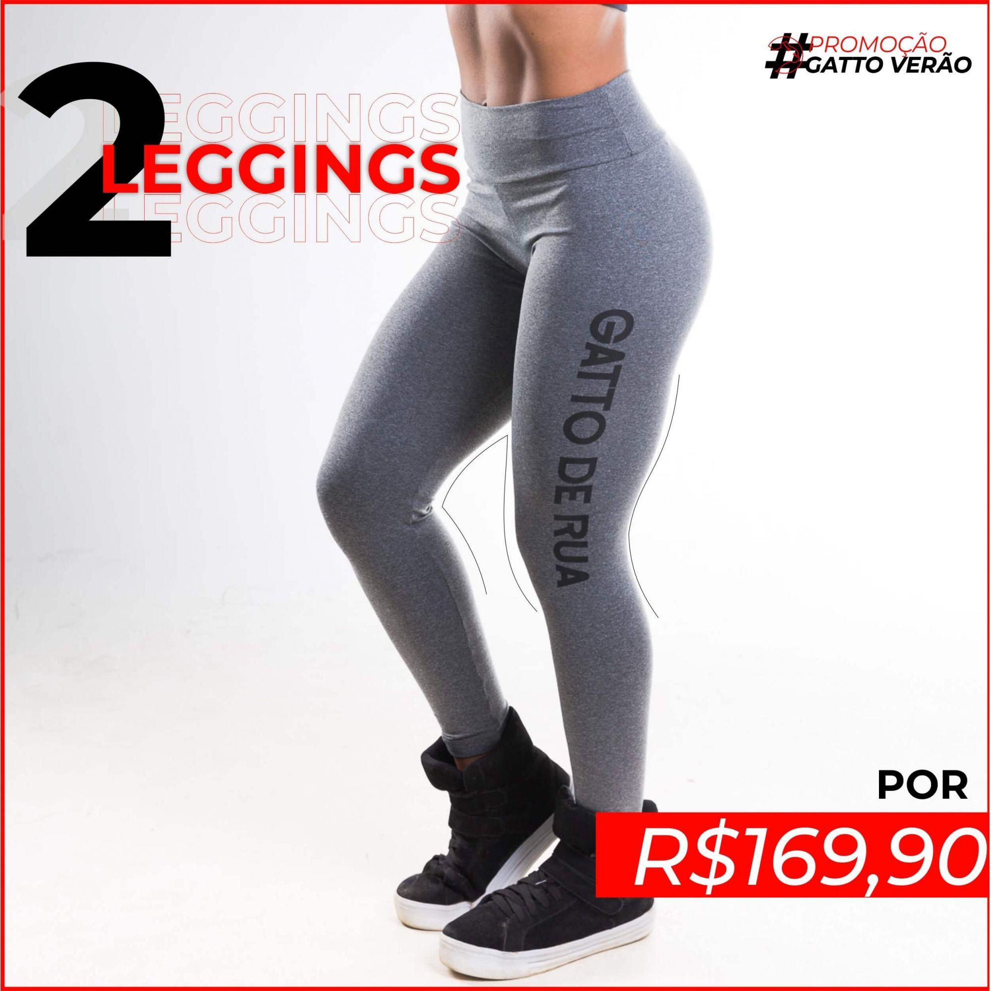 2 Leggings Suplex Gatto de Rua