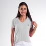 Camiseta Baby look Dry Fit Poliamida Feminina - Branco