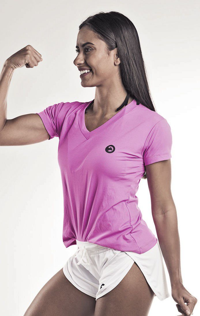 Camiseta Dry Fit Feminina